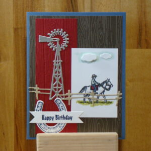 Shop Wyoming Ride The Range Birthday Card
