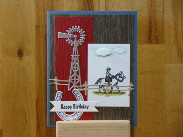 Shop Wyoming Ride The Range Birthday Card