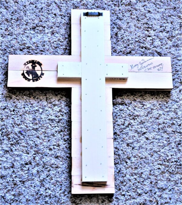 Shop Wyoming Wyoming Bucking Horse Wooden Cross