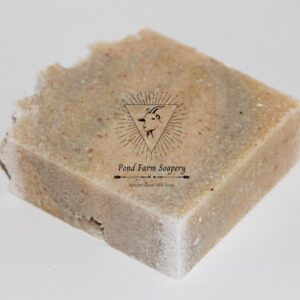 Shop Wyoming Goat Milk Salt Bar Soap- Coral Drops