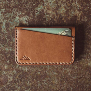 Shop Wyoming Gannett Minimalist Leather Wallet