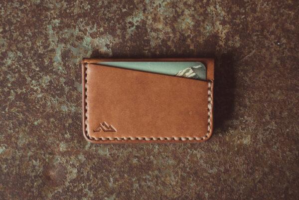 Shop Wyoming Gannett Minimalist Leather Wallet