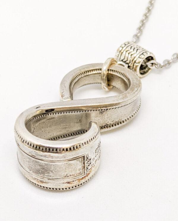 "Shop Wyoming Silverware Infinity Necklace – ""Grosvenor"""