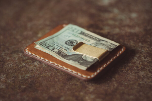 Shop Wyoming Hubbard Money Clip Leather Wallet