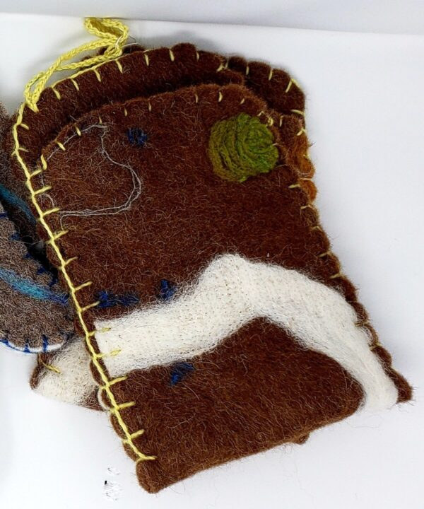 Shop Wyoming Felted Square Oven Mitts