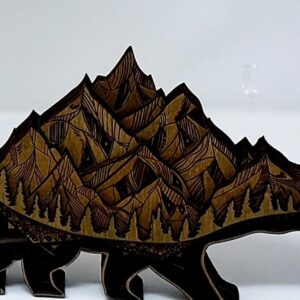 Shop Wyoming Laser Etched Bear