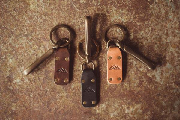 Shop Wyoming K2 Leather Keychain