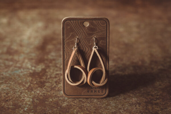 Shop Wyoming Knot Leather Earrings