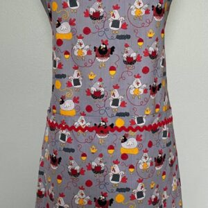 Shop Wyoming Knitting Chickens everyday apron