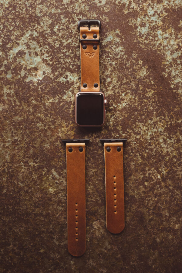 Shop Wyoming Apple Watch Leather Band