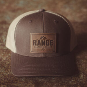 Shop Wyoming Range Leather Retro Hat