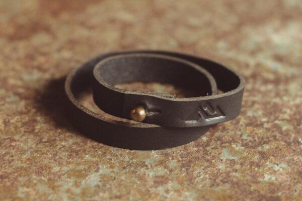 Shop Wyoming Teton Wrap Leather Bracelet