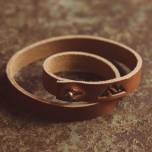 Shop Wyoming Teton Wrap Leather Bracelet