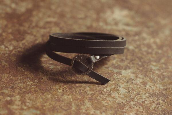 Shop Wyoming Whitney Wrap Leather Bracelet