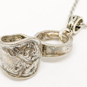 "Shop Wyoming Silverware Infinity Necklace ""Wildwood"""