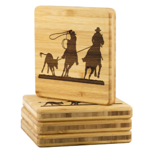 Shop Wyoming TEAM ROPER Coasters – 4 pc