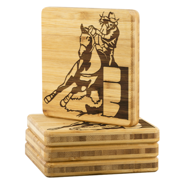 Shop Wyoming BARREL RACER Coasters – 4 pc