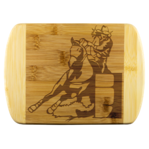 Shop Wyoming BARREL RACER Small Cutting Board without Handle