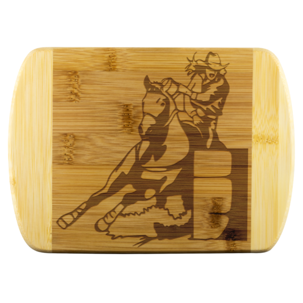Shop Wyoming BARREL RACER Large Cutting Board without Handle