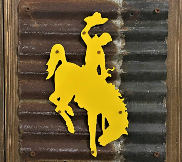 Shop Wyoming Wyoming Bucking Horse & License Plate Wall Art