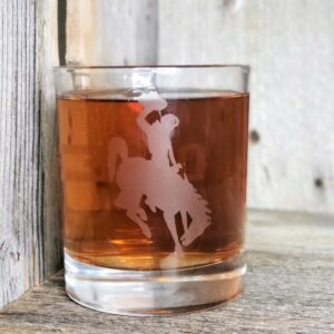 Shop Wyoming University of Wyoming Whiskey Glass