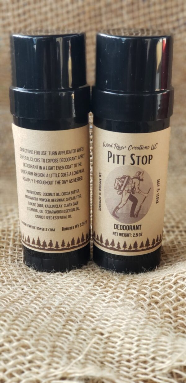 Shop Wyoming Pitt Stop All Natural Deodorant (Cedar & Sage scent)