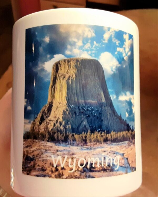 Shop Wyoming Ceramic Coffee Mug 11oz