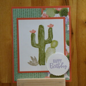 Shop Wyoming Flowering Dessert Birthday Card