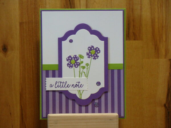Shop Wyoming Pressed Flowers a little note Card