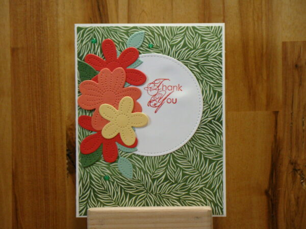 Shop Wyoming Forever Fern Thank You Card