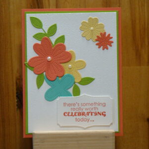 Shop Wyoming Pierced Blooms Birthday Card