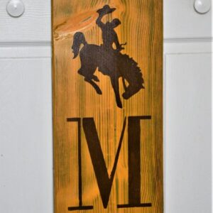 Shop Wyoming Bucking Horse Entryway Sign