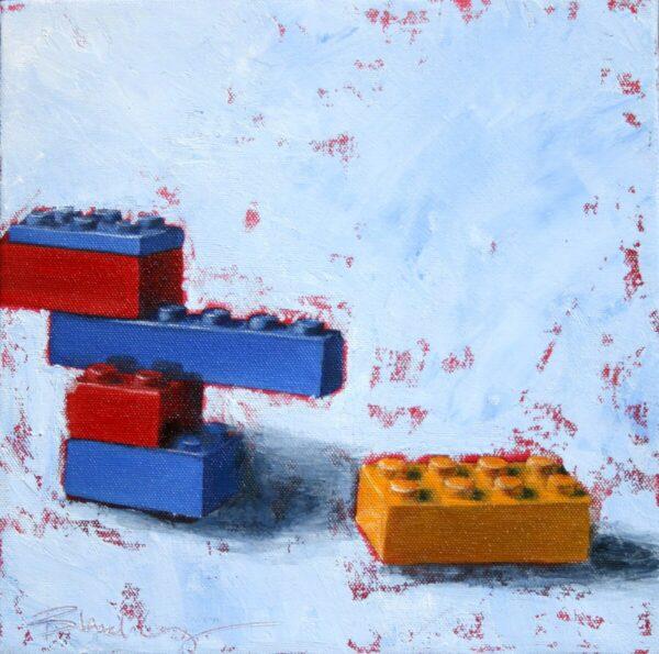Shop Wyoming Debris – Original Oil Painting