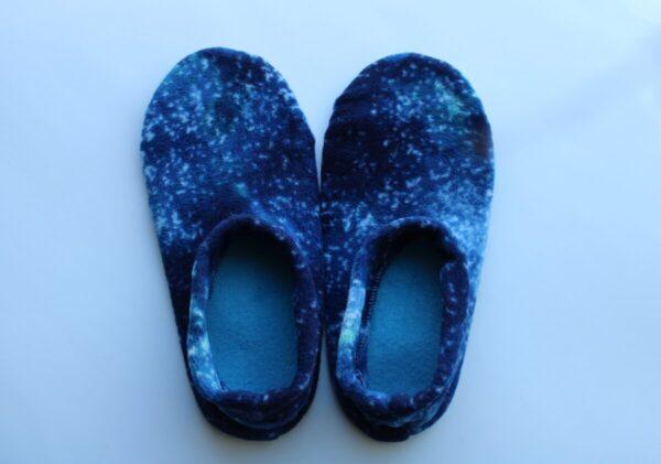 Shop Wyoming Galaxy Slipper Socks/House Shoes