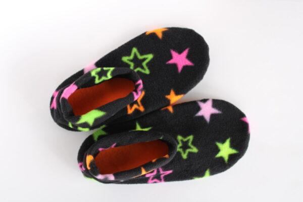 Shop Wyoming Neon Stars Slipper Socks/House Shoes