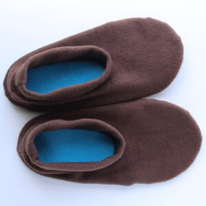 Shop Wyoming Brown Slipper Socks/House Shoes