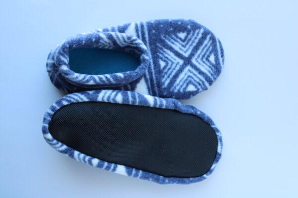 Shop Wyoming Aztec Designs Slipper Socks/House Shoes