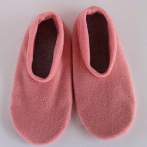 Shop Wyoming Light Coral Slippers/Non Slip Slipper Socks