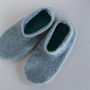 Shop Wyoming Gray Slippers/Non Slip Slipper Socks