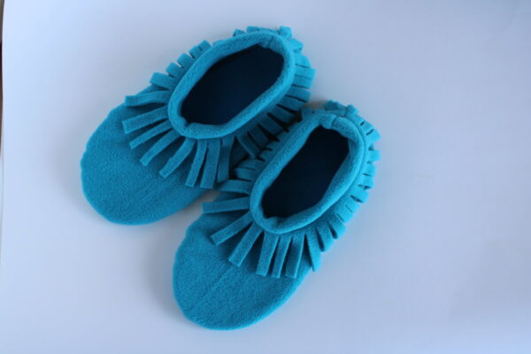 Shop Wyoming Turquoise Moccasin Slipper Socks/ House Shoe Socks