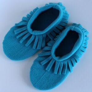 Shop Wyoming Turquoise Moccasin Slipper Socks/ House Shoe Socks