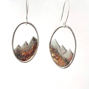 Shop Wyoming Silver Mountain Earrings