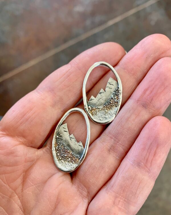 Shop Wyoming Silver Mountain Earrings