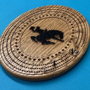 Shop Wyoming Oval Wyoming Cribbage Board