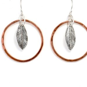 Shop Wyoming Dogwood Leaf Earrings