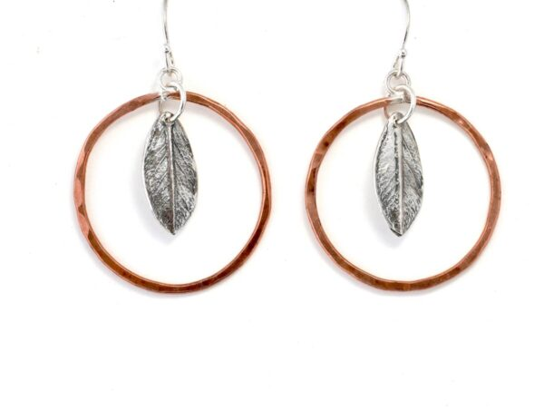 Shop Wyoming Dogwood Leaf Earrings