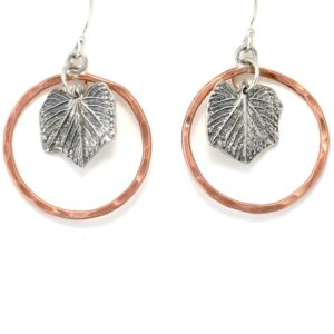 Shop Wyoming Silver Grape Lead Earrings