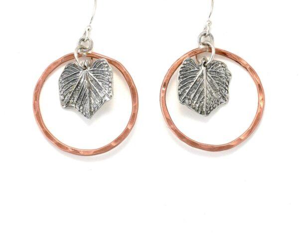 Shop Wyoming Silver Grape Lead Earrings