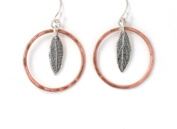 Shop Wyoming Sage Leaf Earrings