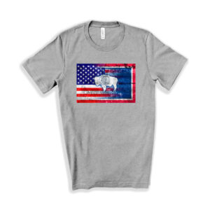 Shop Wyoming Wyoming USA T-Shirt